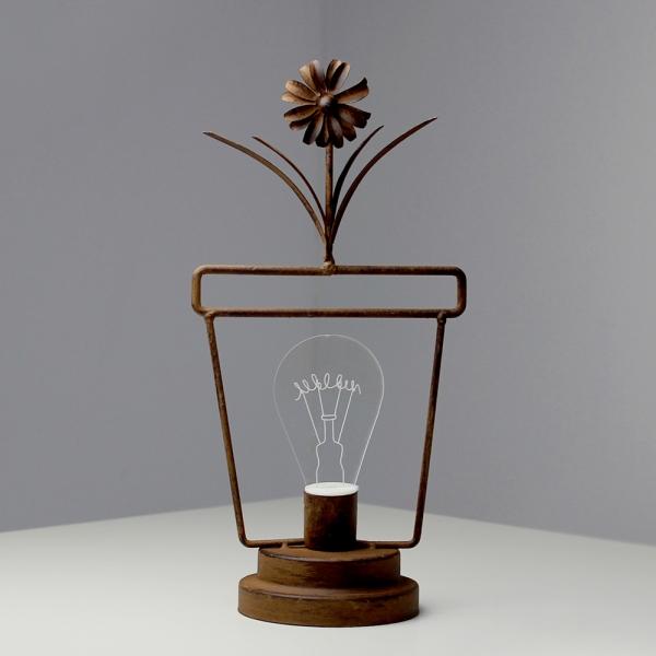 (kcrz026)빈티지 LED 무드등 (화분)