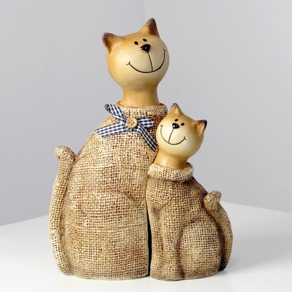 (kcrz033)황색 고양이 장식 2p 세트