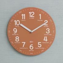 (kdrz117)키다리 저소음 영어 교육용 시계 산호