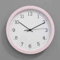 (kmj048)저소음 스위트모던 벽시계 280 (핑크)