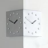 (ktk132)크리스탈 코너 시계 (실버)