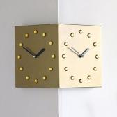 (ktk133)크리스탈 코너 시계 (골드)