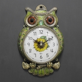 (kdyg015)저소음 해안부엉이시계 (그린)
