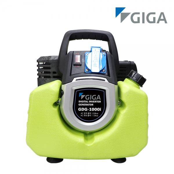 기가 발전기 GDG-1000i / 미니발전기 인버터 펌프 미니 1kw발전기 공구설비