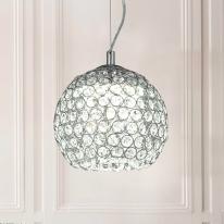 LED 크리스탈 헤즐넛 펜던트등 크롬