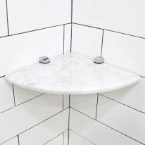 천연대리석 마블 욕실코너선반