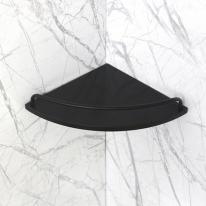 베키 블랙 인조대리석 욕실코너선반 A형-BT