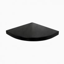 데이브 무지주 코너선반 24T(블랙)-BT