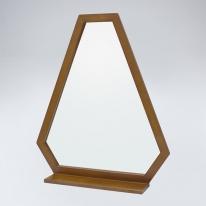 트라이앵글 원목 선반형 거울(하임엔틱)