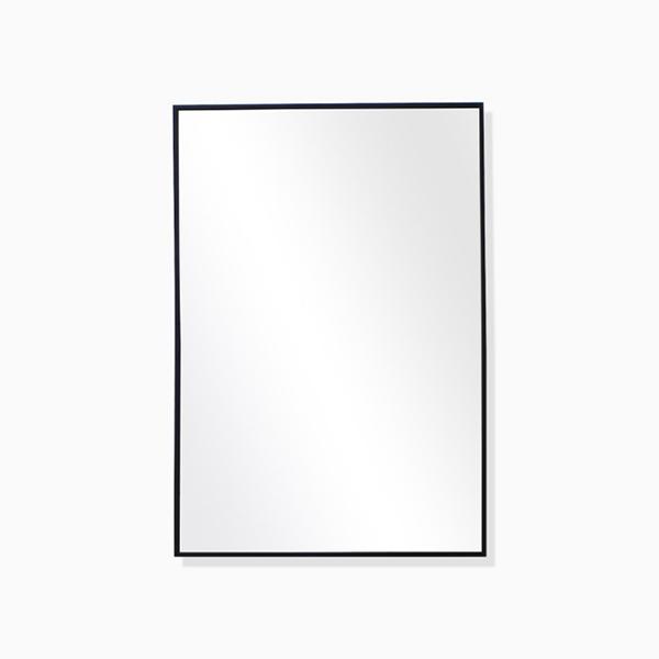 엘리 블랙 사각거울(스테인레스 프레임)-BT
