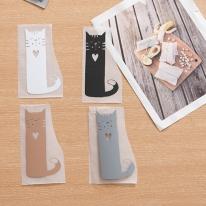 컬러전사지] 하트 고양이 4color Y1988 (8218419)