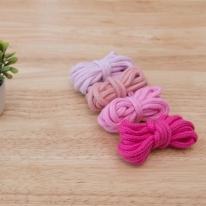 450cm] 5mm 둥근 스트링끈 핑크계열 4color Y2007 (8218438)