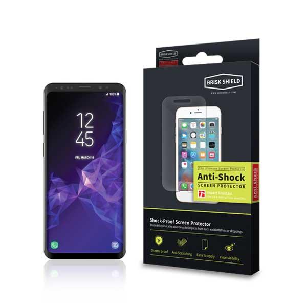 브리스크쉴드 삼성 Galaxy S9 플러스 충격흡수 프리미엄 방탄필름