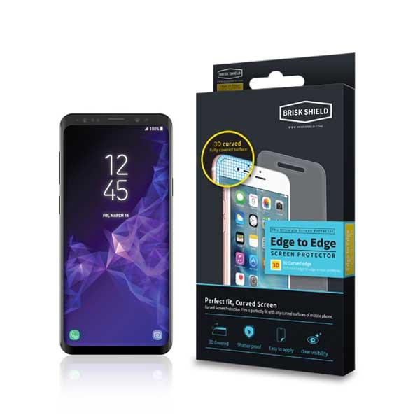 브리스크쉴드 삼성 Galaxy S9 플러스 충격흡수 3D풀커버 프리미엄 액정보호필름
