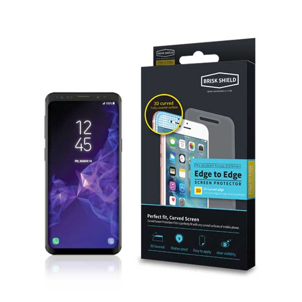 브리스크쉴드 삼성 Galaxy S9 충격흡수 3D풀커버 프리미엄 액정보호필름