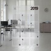 2019년 투명포스터 달력(PET)