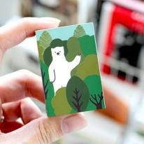 브리스크스타일 성냥(Little forest Bear)_3개입