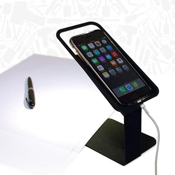 스마트폰 스탠드 램프