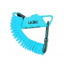 ULac 카라비너 스프링락 자전거 자물쇠 (블루)