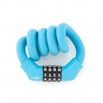 ULac 실리콘메모리락 자전거 자물쇠 (번호형 블루)