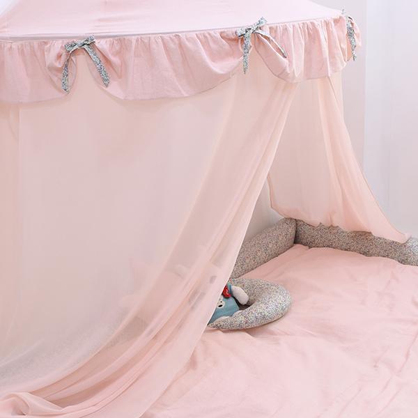 샤이 캐노피커튼 핑크