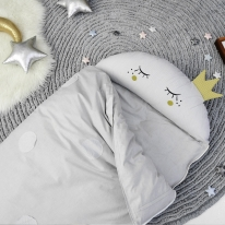 반달크라운 침낭형 낮잠이불