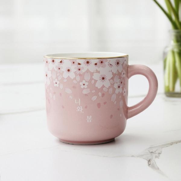 체리블라썸 스프링 머그(핑크)
