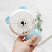 스타일딘 이모티콘 LED 핸디 선풍기 - BEAR