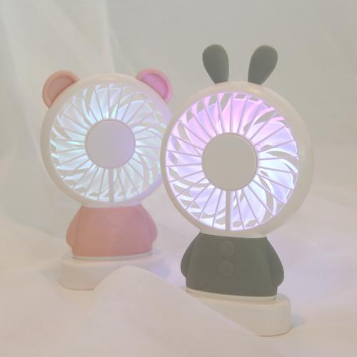 스타일딘 이모티콘 LED 핸디 선풍기 - RABBIT