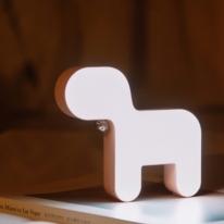 방울 펜던트 강아지 충전식 LED 램프