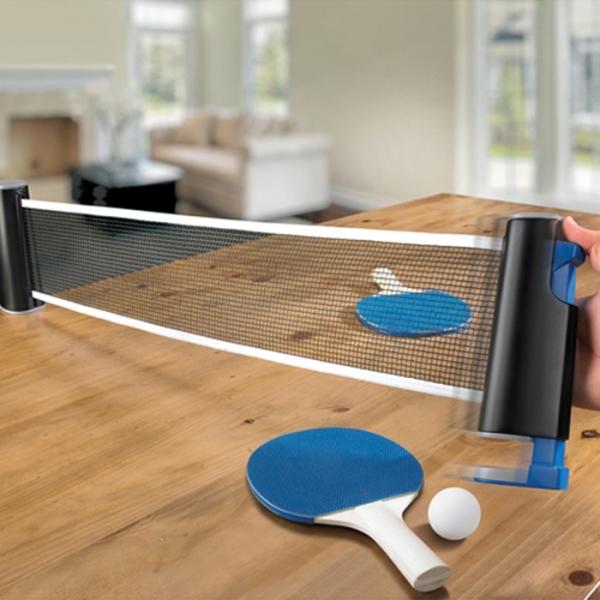 ENJOY! TABLE TENNIS 원터치 간이네트 탁구용품 set