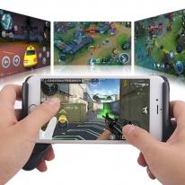 F1 스마트폰 컨트롤러 핸드그립 게임패드