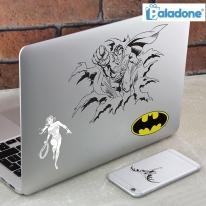 [영국 팔라돈정품] 슈퍼맨vs배트맨 DC코믹스 스티커