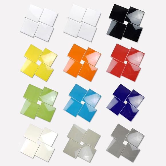 비비드 사각타일 7종(150X150)/박스판매