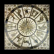 북유럽 그리스신화 금장타일(300x300mm)-1세트(4장)(벽,바닥겸용)