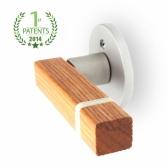 참나무원목(OAK384) 방문손잡이-직지손잡이