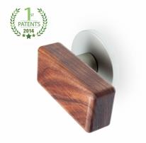 호두나무원목(Walnut381) 방문손잡이-직지손잡이