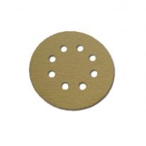 원형베크로 샌딩페이퍼(8홀 125mm)/KR125-8