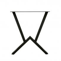 우드슬랩 W자 철재다리(테이블용)