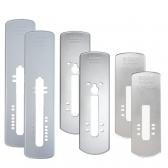 게이트맨 디지털도어락 전용 보강판 (앞/뒤 1세트)