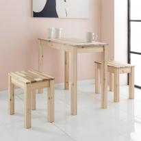 작고 알찬 원목가구 테이블/의자 모음
