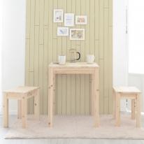 삼나무 원목 2인 부부테이블 세트 식탁 티 테이블 카페테이블 콘솔 거실테이블 예쁜책상