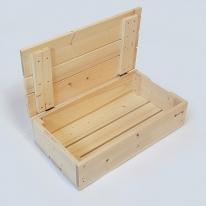 원목수납함(중형) 스프러스 장난감 정리함 수납박스 사과박스 공간박스 상자 박스