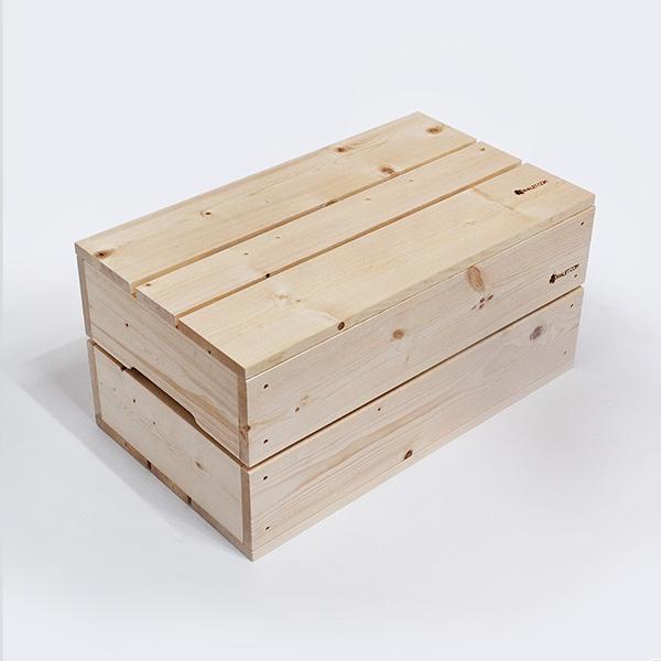 원목수납함(대형) 스프러스 장난감 정리함 수납박스 사과박스 공간박스 상자 박스