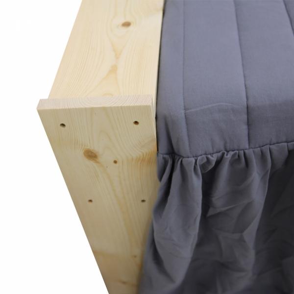 틈테이블 틈새선반 침대 원목 사이드테이블 좁은공간 베드테이블