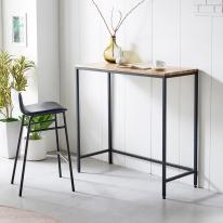 홈바테이블 철제 원목 식탁 주방 홈카페