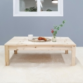 거실 주방 현관 보조책상 좌탁 원목테이블 1200x600