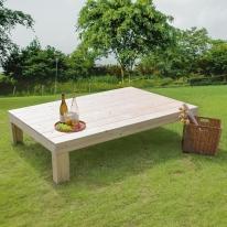정원꾸미기 원목평상 옥상 벤치의자 (중형/무도장)