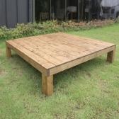 피크닉테이블 야외벤치 테이블 평상 (대형/도토리)