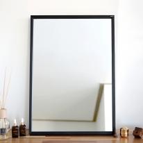 [무료배송] 허니 500X700 화장대 탁상 거울 블랙
